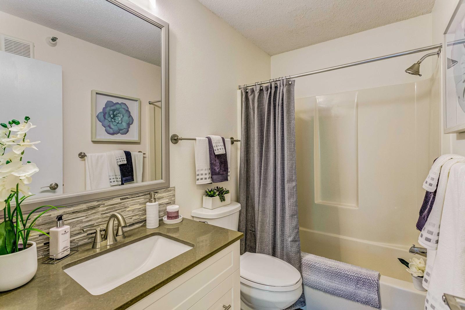 Carriage Oaks bathroom.